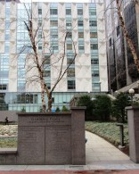 There is also an entrance into the Garden from the Plaza itself. It will be flanked by a wall on which donors will be acknowledged for their generosity in funding the construction of this significant addition to the public open space of the city, and the commemoration of the hundreds of citizens of Massachusetts who have lost their lives through the act of homicide.