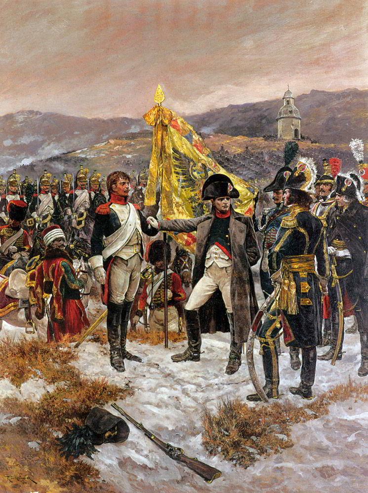 Croix d'Honneur by Richard Caton Woodville-History Painting