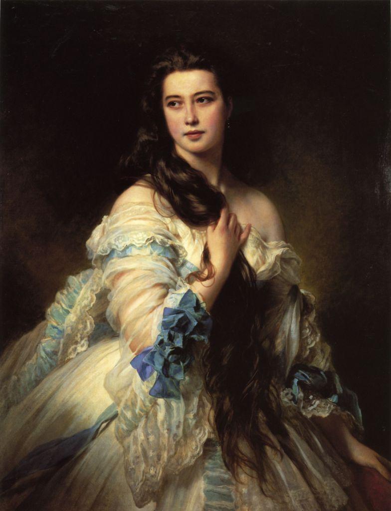Madame Barbe de Rimsky Korsakov by Franz Xavier Winterhalter