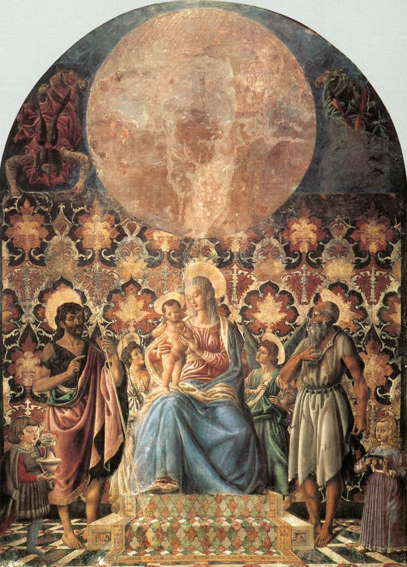 Madonna and Child with Saints by Andrea del Castagno