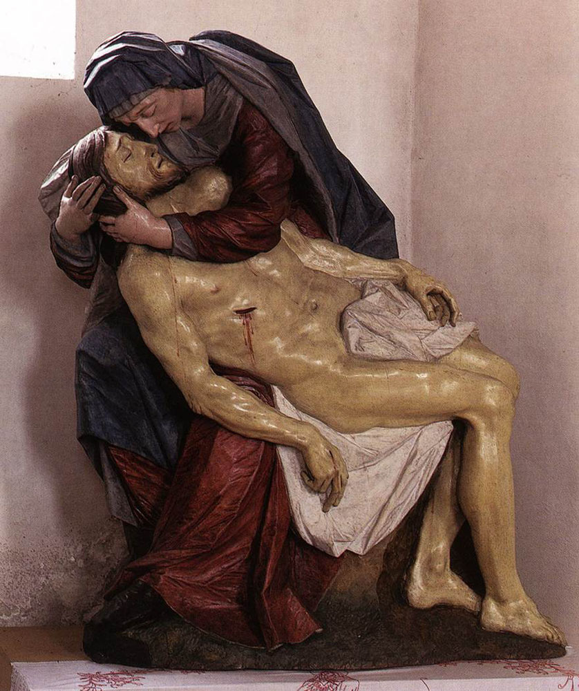 Pieta (1) by Franz Ignaz Gunther