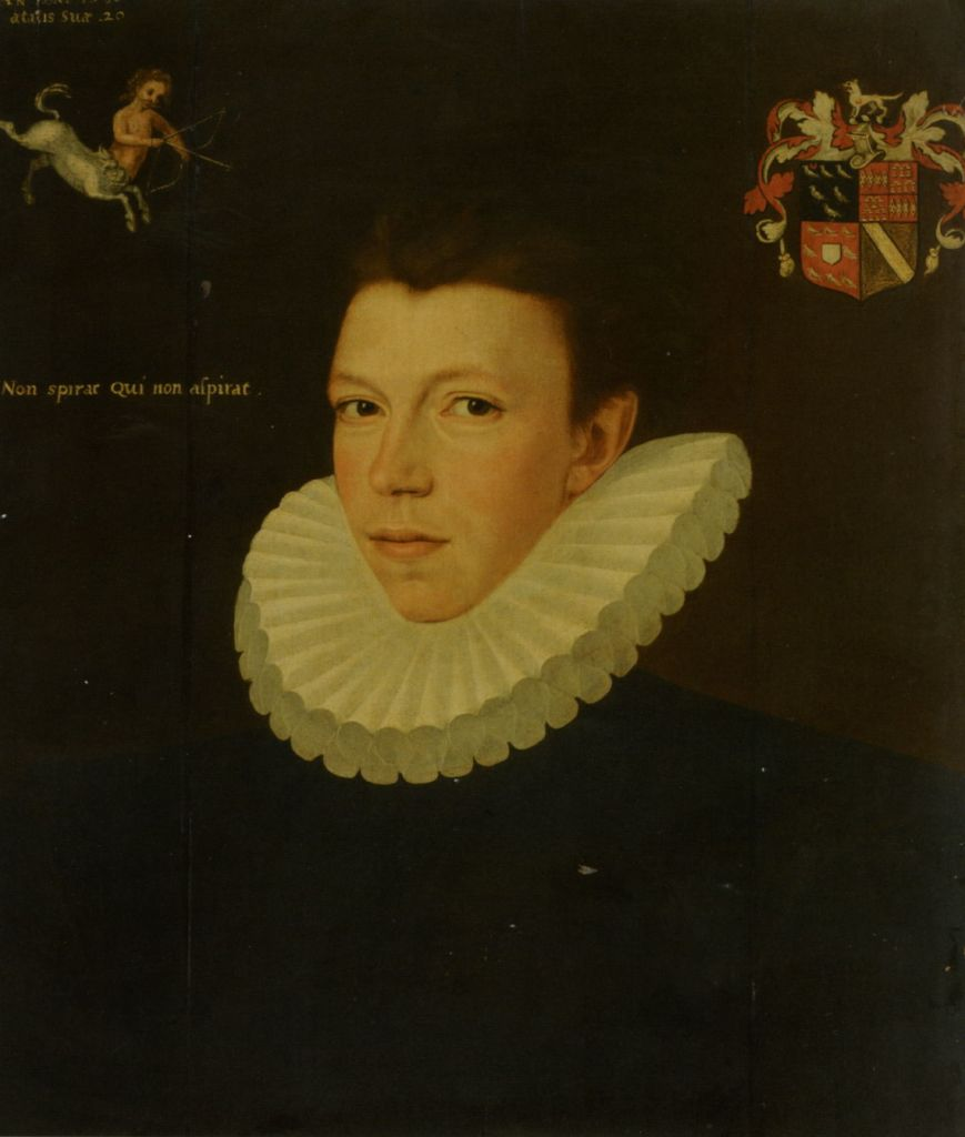 Portrait of Baron Thomas Arundell of Wardour by George Gower