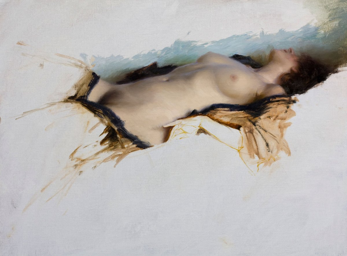 Reclining Figure by Jeremy Lipking