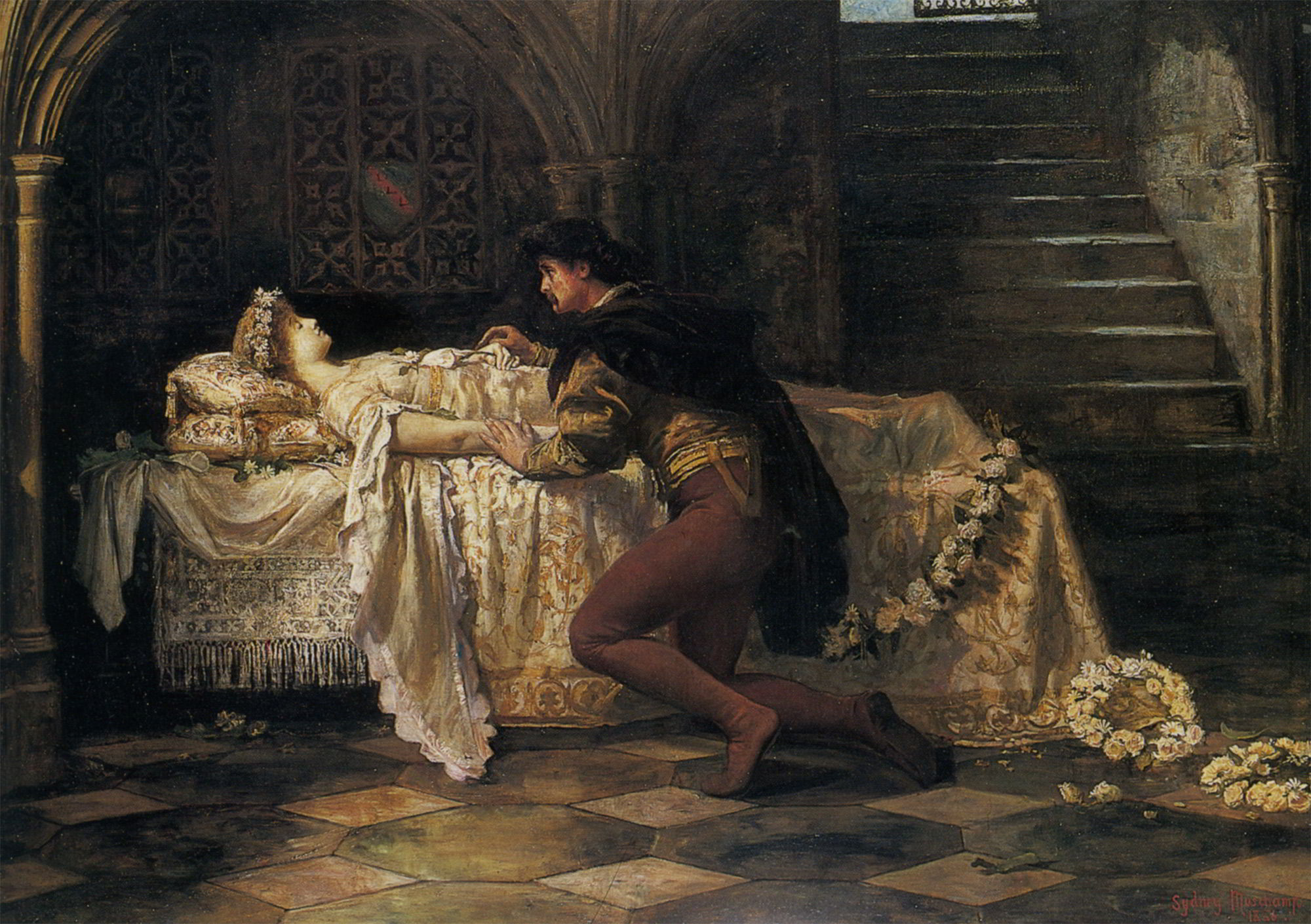Romeo And Juliet By Francis Sidney Muschamp