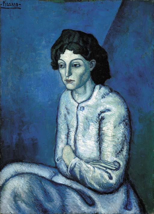 Femme aux Bras Croisés (Woman with Arms Crossed) by Pablo Picasso