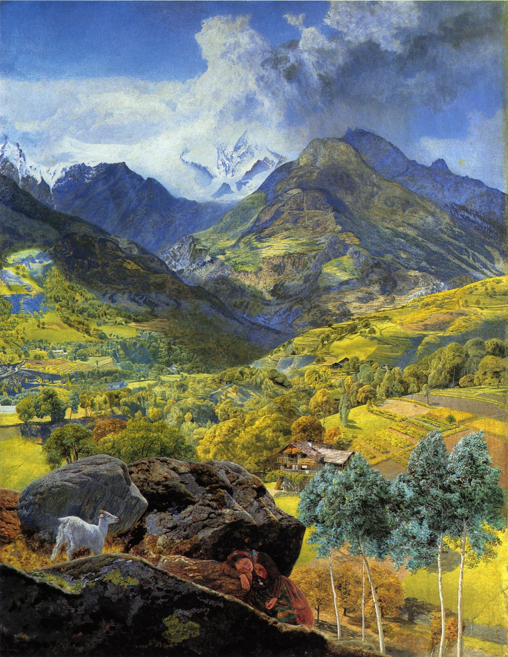 The Val d Aosta by John Brett