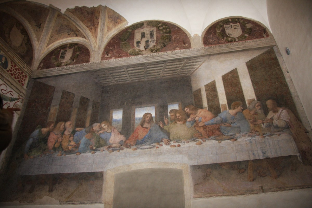 The Last Supper, a fresco by Leonardo da Vinci