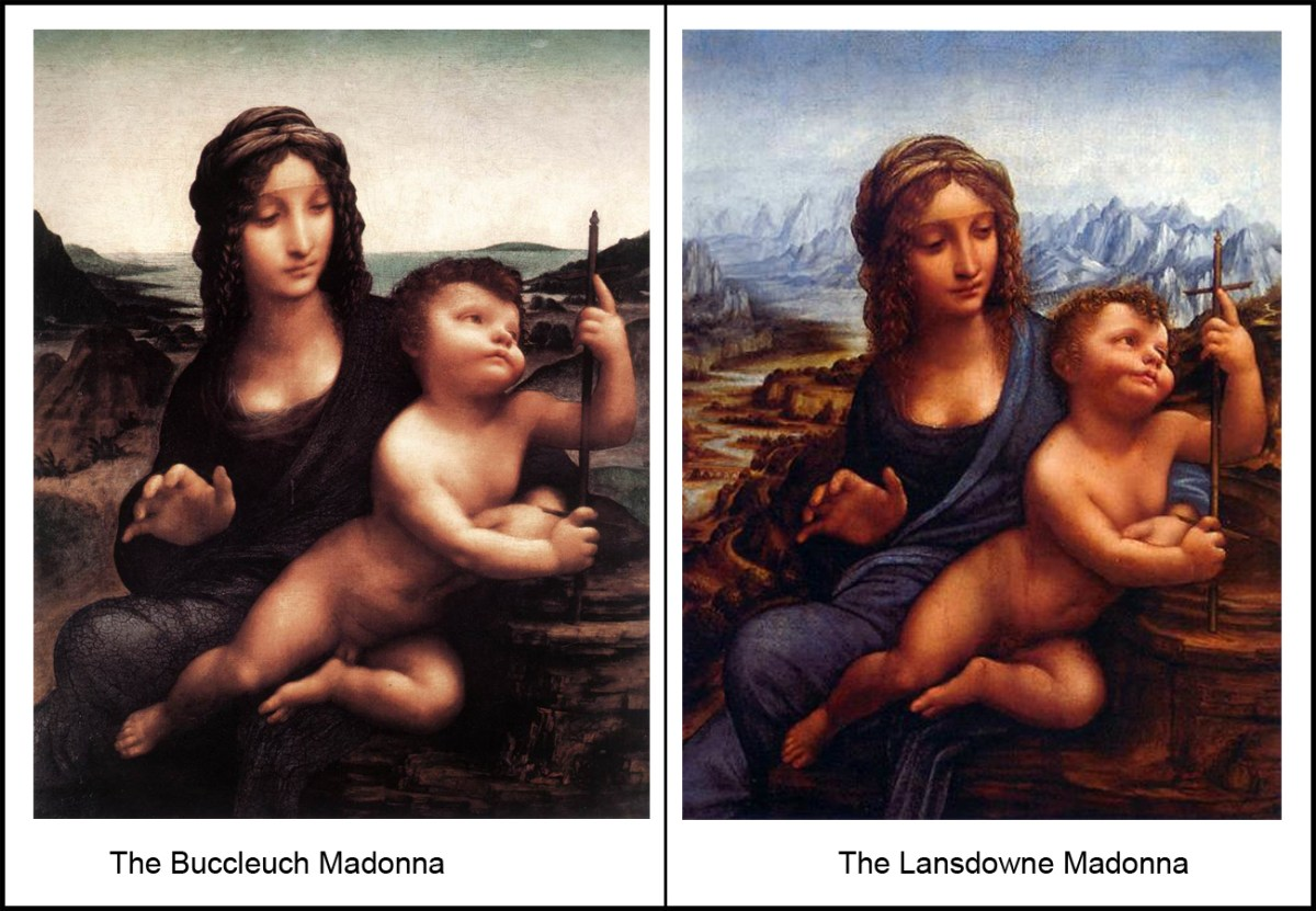 Madonna of the yarnwinder (Both Versions)