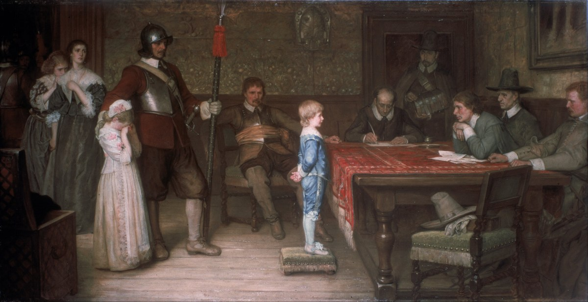And when did you last see your father by William Frederick Yeames