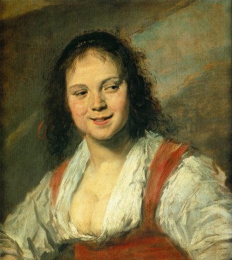 Gypsy Girl by Frans Hals