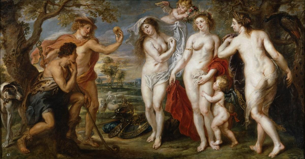 Judgment of Paris by Peter Paul Rubens