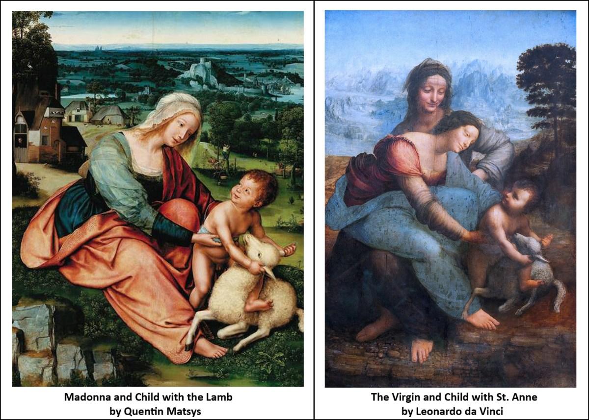Leonardeschi painting comparision