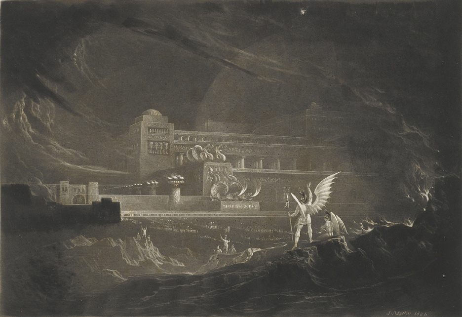 Paradise Lost by John Martin