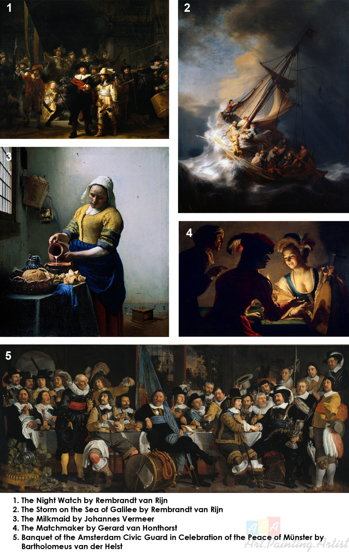 Dutch Golden Age Important Paintings