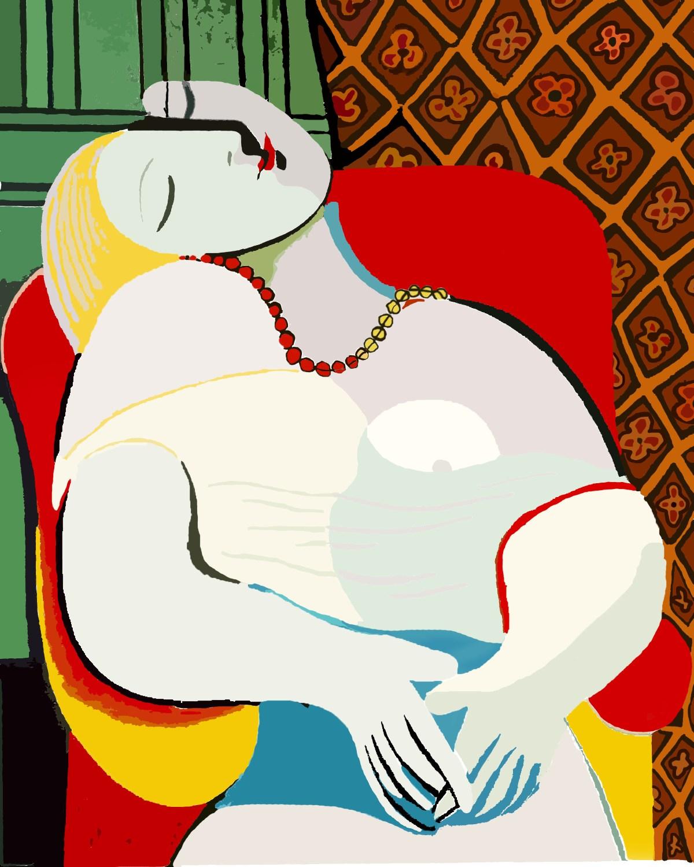 Le Reve by Pablo Picasso