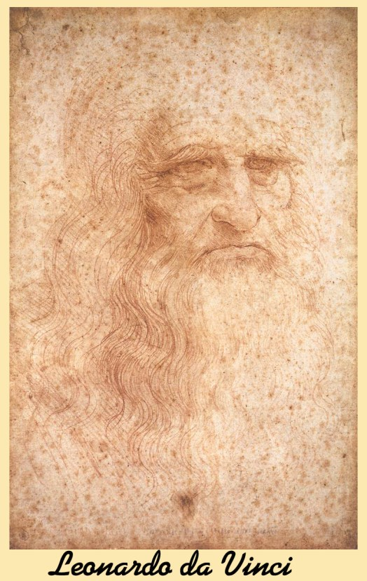 Leonardo da Vinci Self Portrait (Presumed)