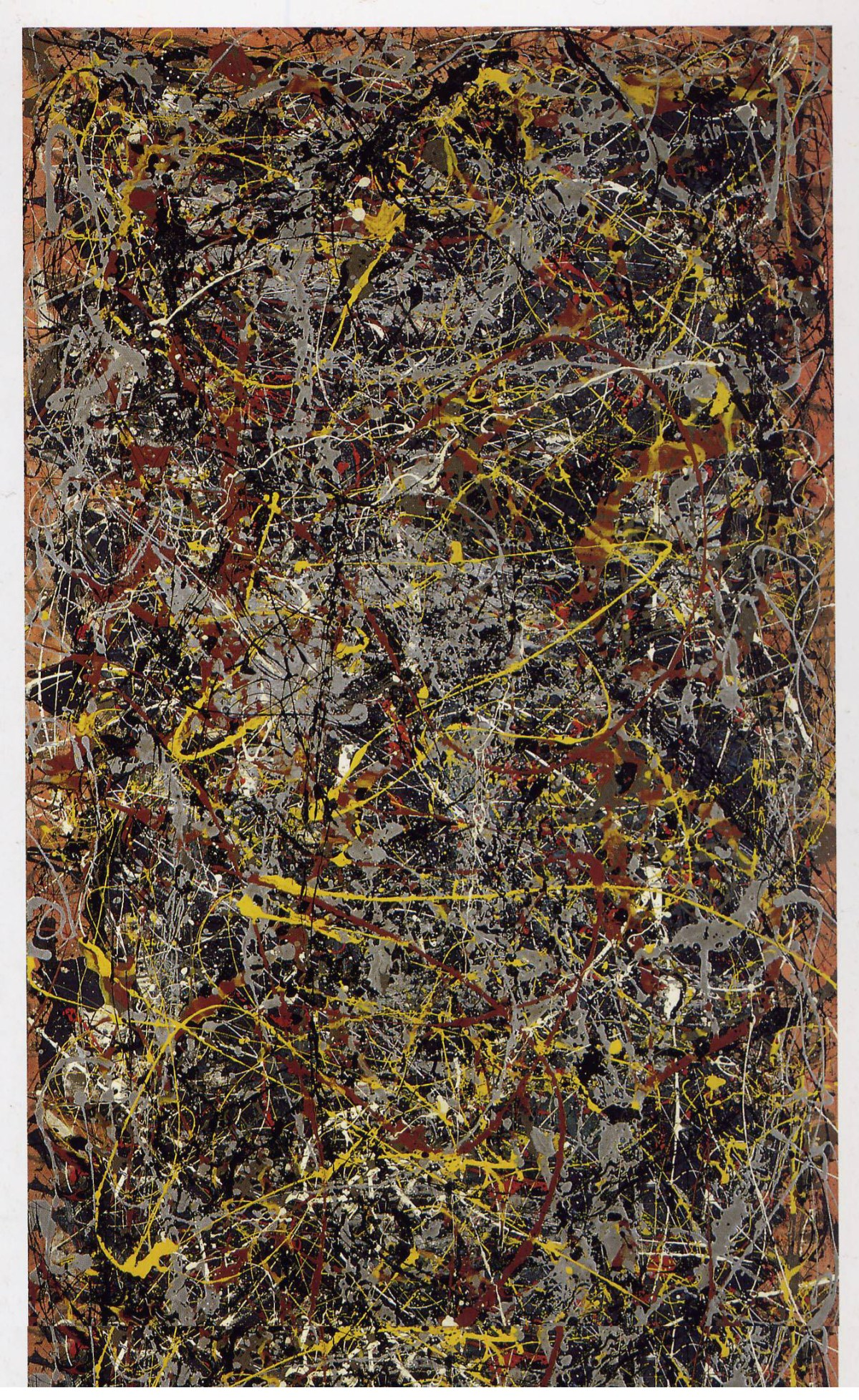 No 5, 1948 by Jackson Pollock (Abstract Painting)