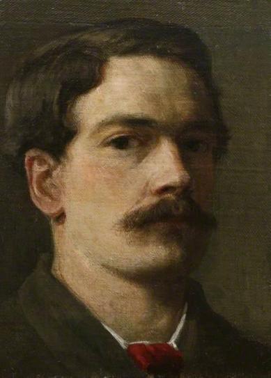 Henry Scott Tuke Self Portrait
