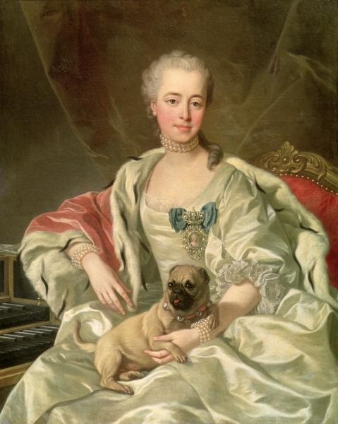 Portrait of Princess Ekaterina Dmitrievna Golitsyna by Louis-Michel van Loo