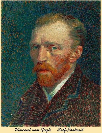 Selfportrait Vincent van Gogh