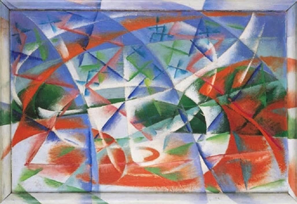 Abstract Speed + Sound by Giacomo Balla