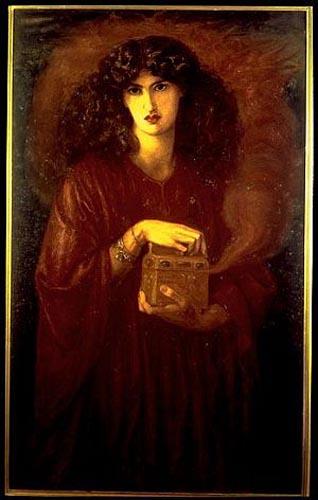 Pandora by Dante Gabriel Rossetti