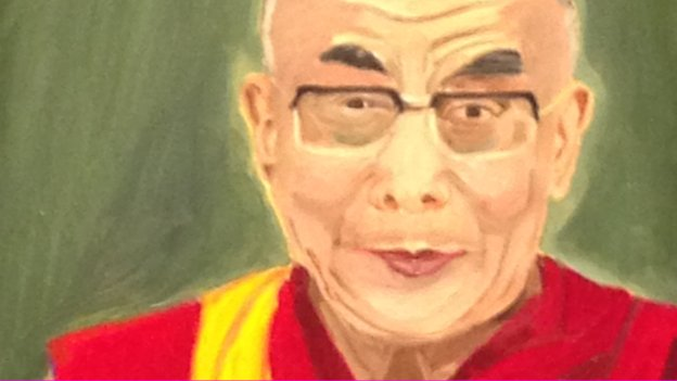 Dalai Lama by George W. Bush