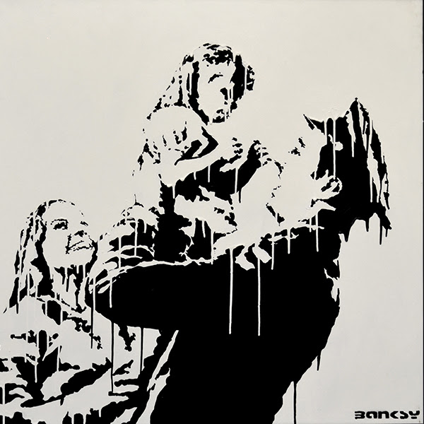 Daddy's Back by Banksy