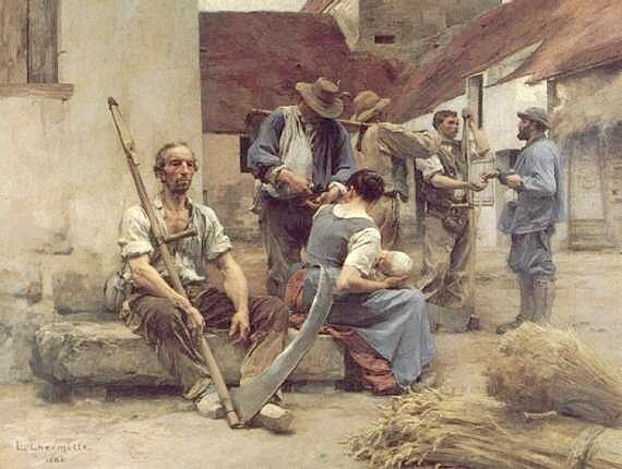 Hermitte Payment of the  Hay Gatherers