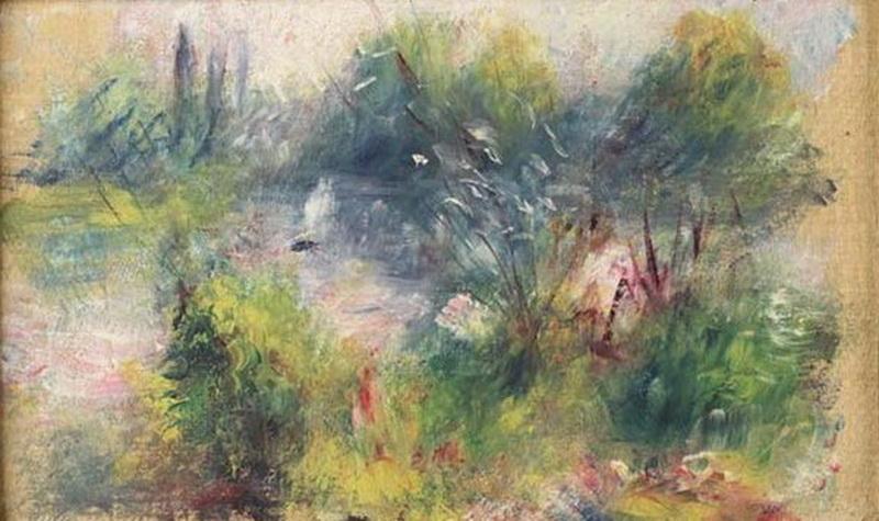 Paysage bord du Seine
