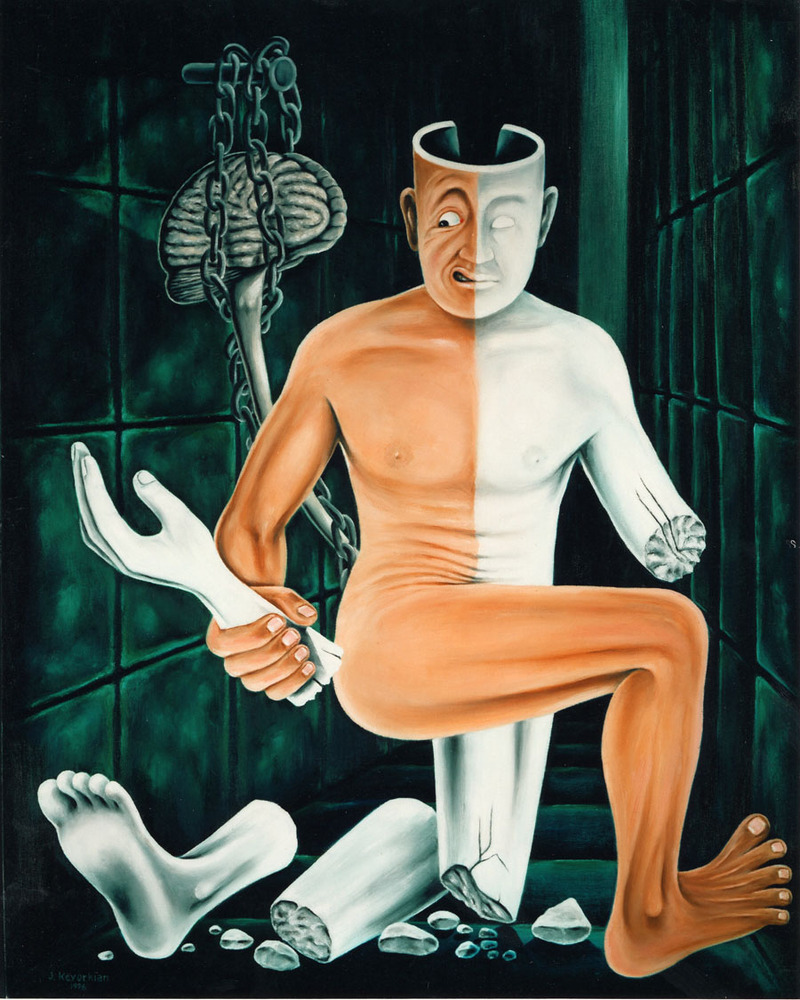 Paralysis by Jack Kevorkian-Oil Painting