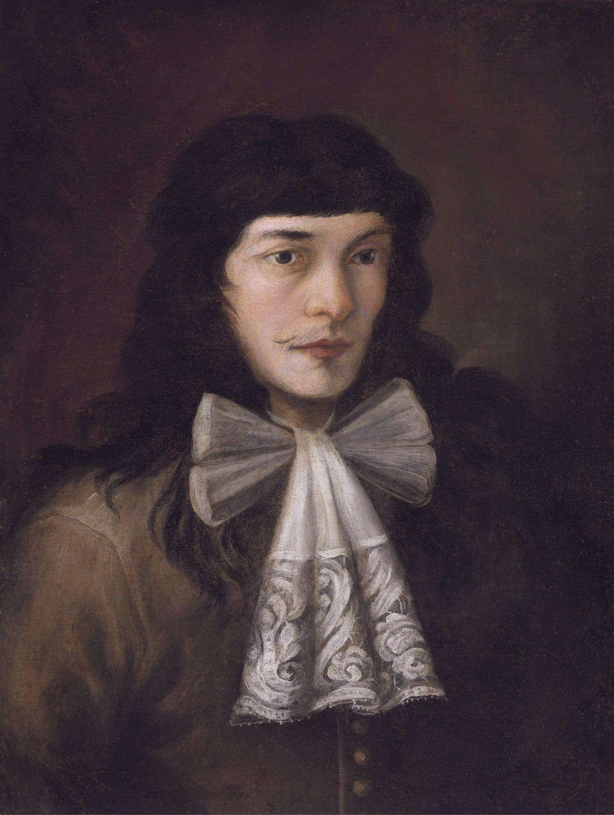 Self portrait *oil on canvas *63.5 x 48.3 cm