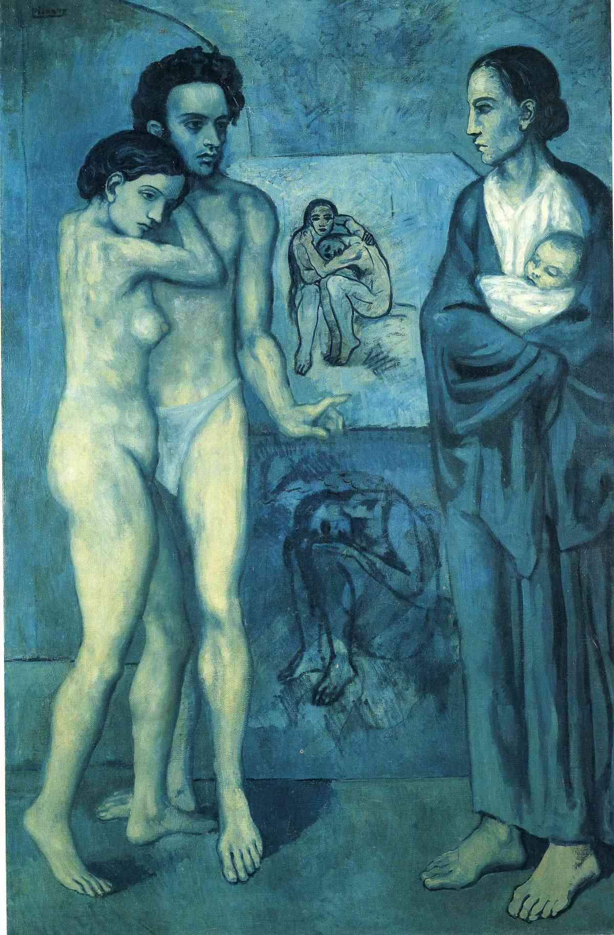 La Vie by Pablo Picasso (1903)