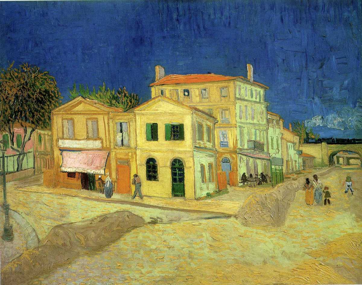 The Yellow House by Vincent van Gogh (1888)