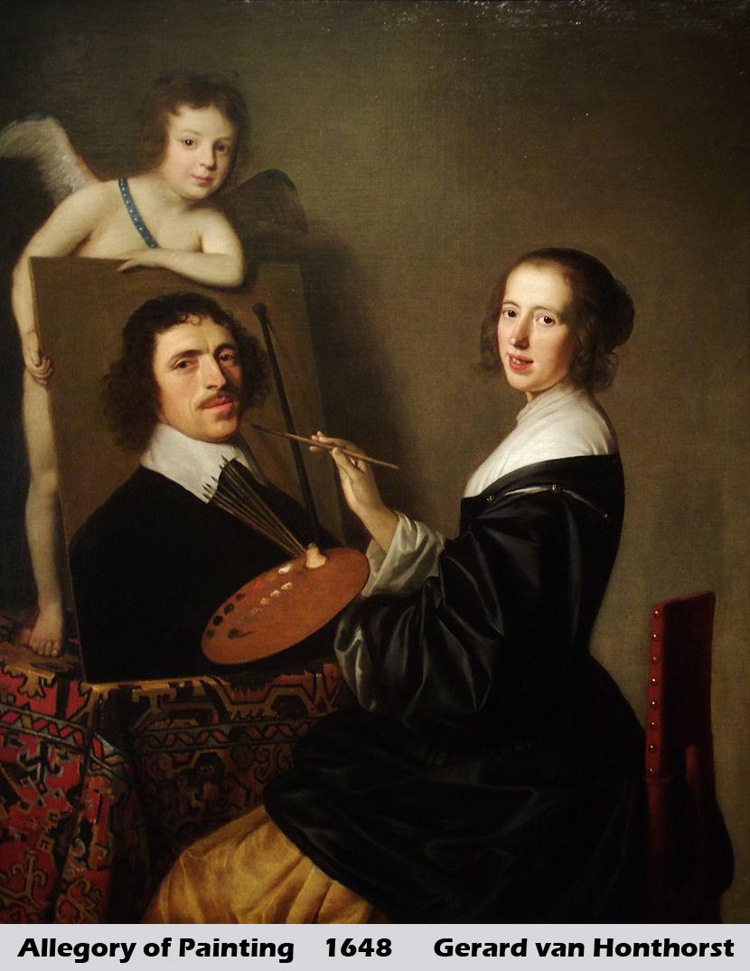 Allegory of Painting by Gerrit van Honthorst