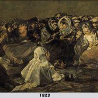 Aquelarre by Francisco Goya