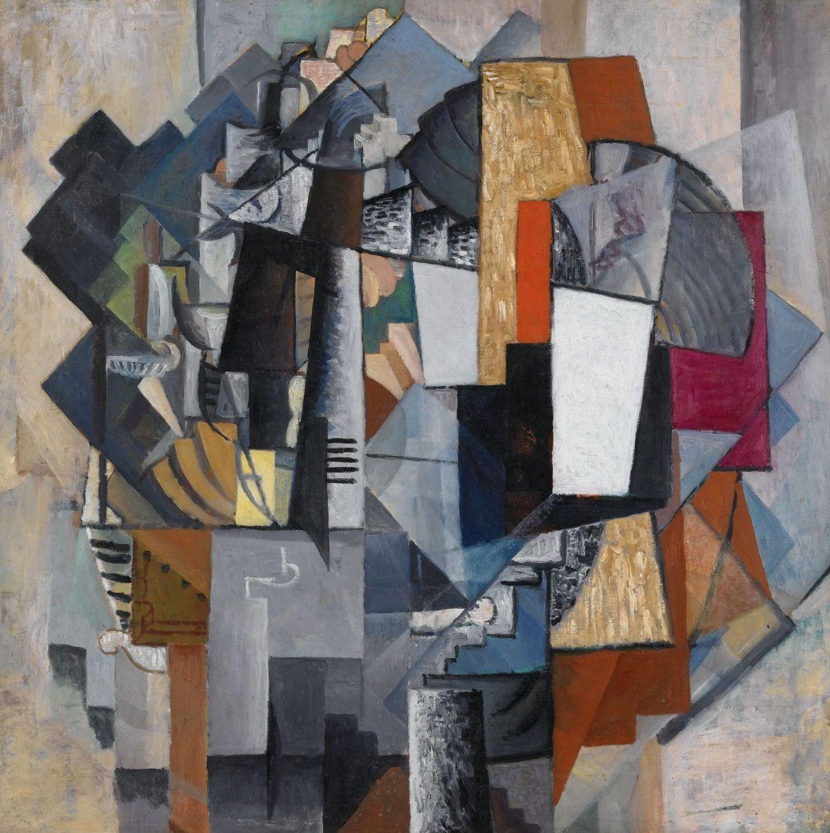 Bureau and Room by Kazimir Malevich