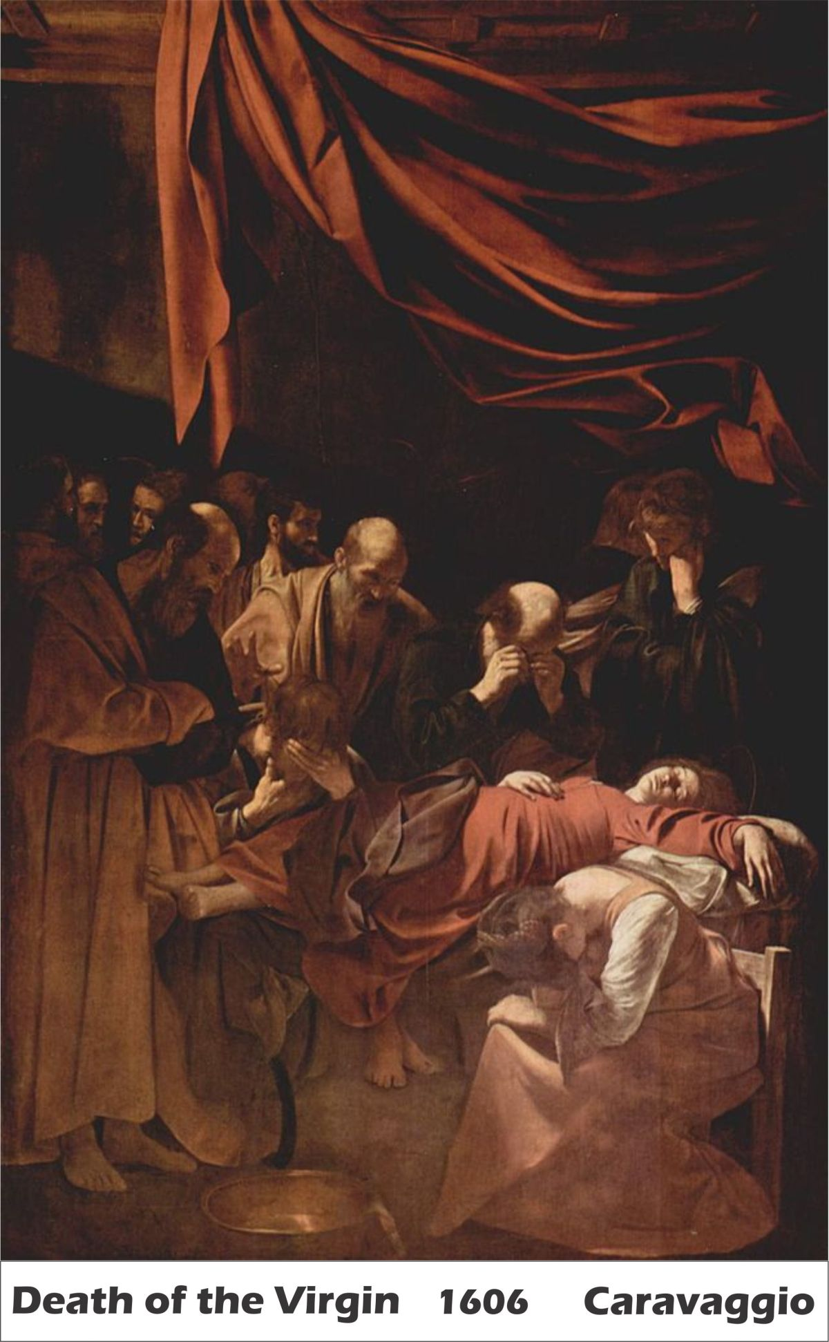 Death of the Virgin by Caravaggio