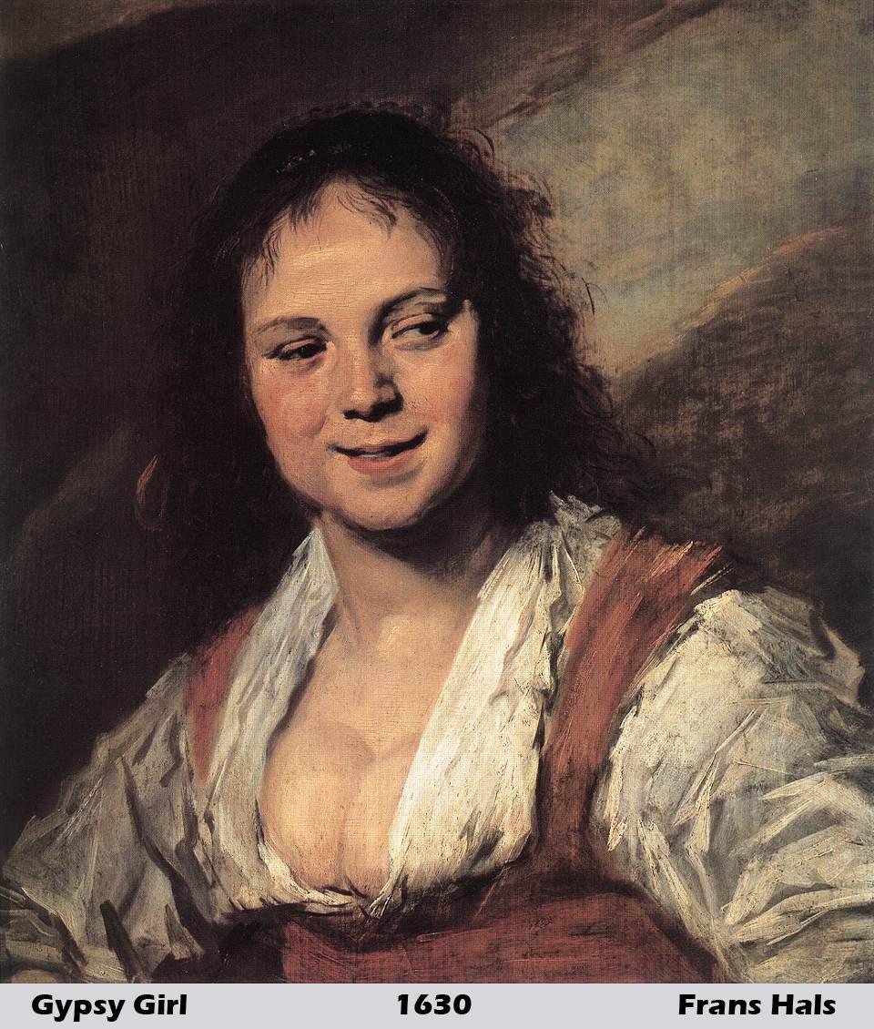 Gypsy Girl by Frans Hals