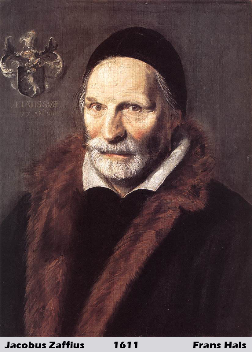 Jacobus Zaffius by Frans Hals