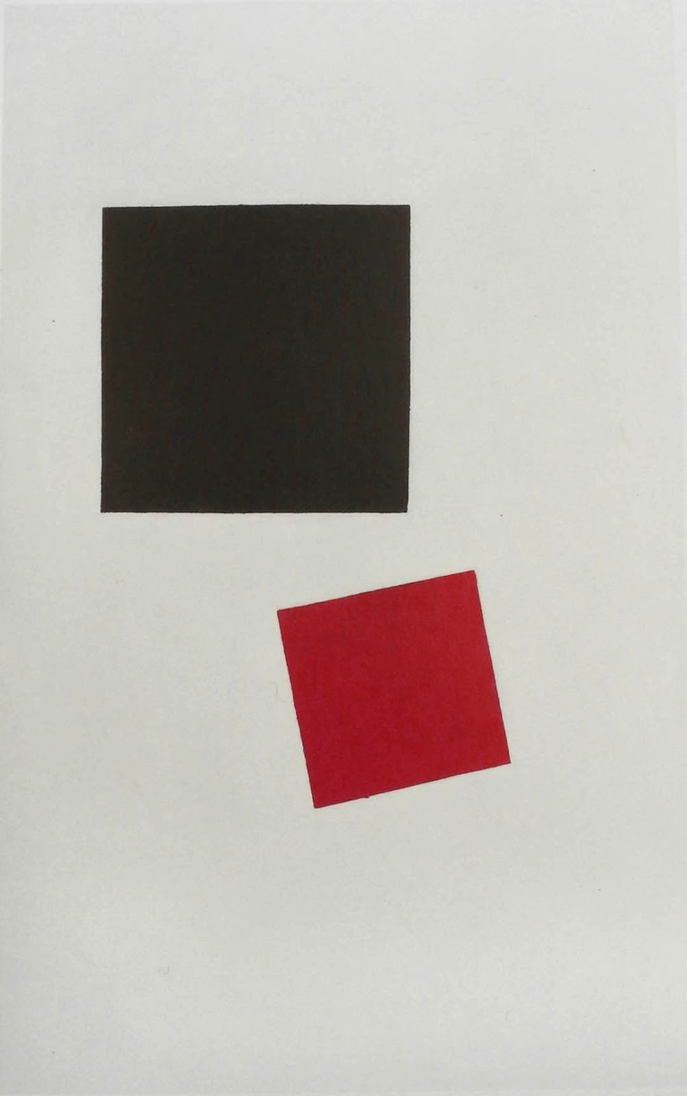 Painterly Realism of a Boy with a Knapsack Color Masses in the Fourth Dimension by Kazimir Malevich