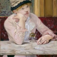 Plum Brandy by Édouard Manet