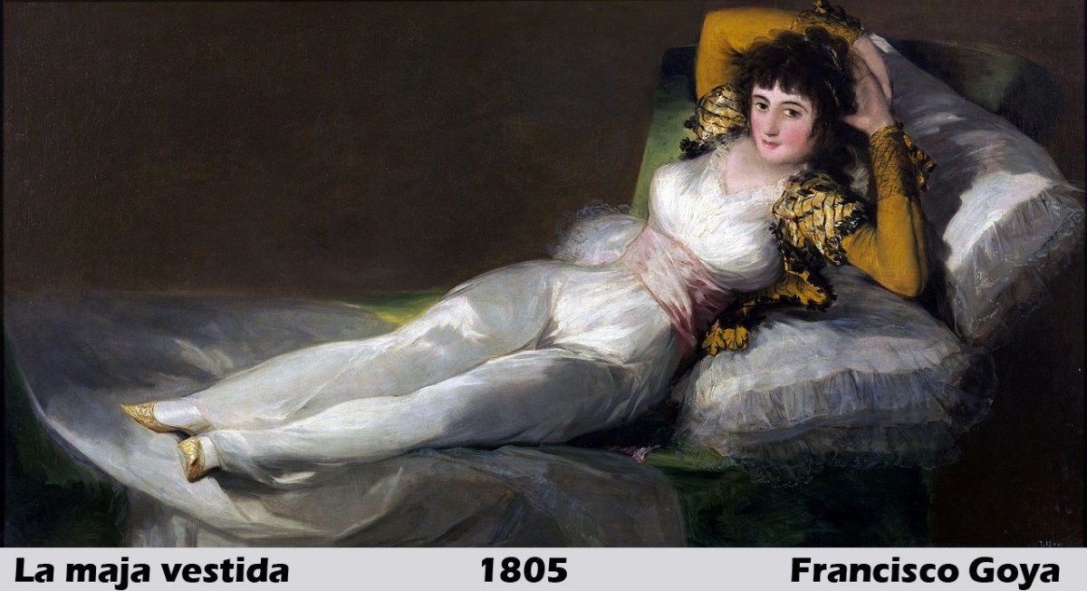 The Clothed Maja by Francisco Goya
