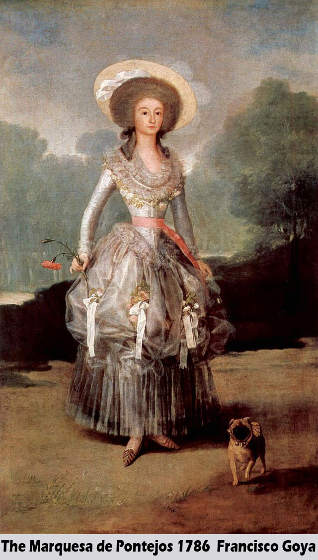 The Marquesa de Pontejos by Francisco Goya