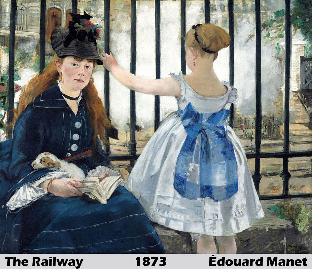 The-Railway by Édouard Manet