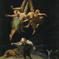 Witches' Flight by Francisco Goya