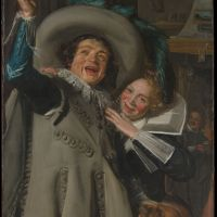 Young Man and Woman in an Inn by Frans Hals