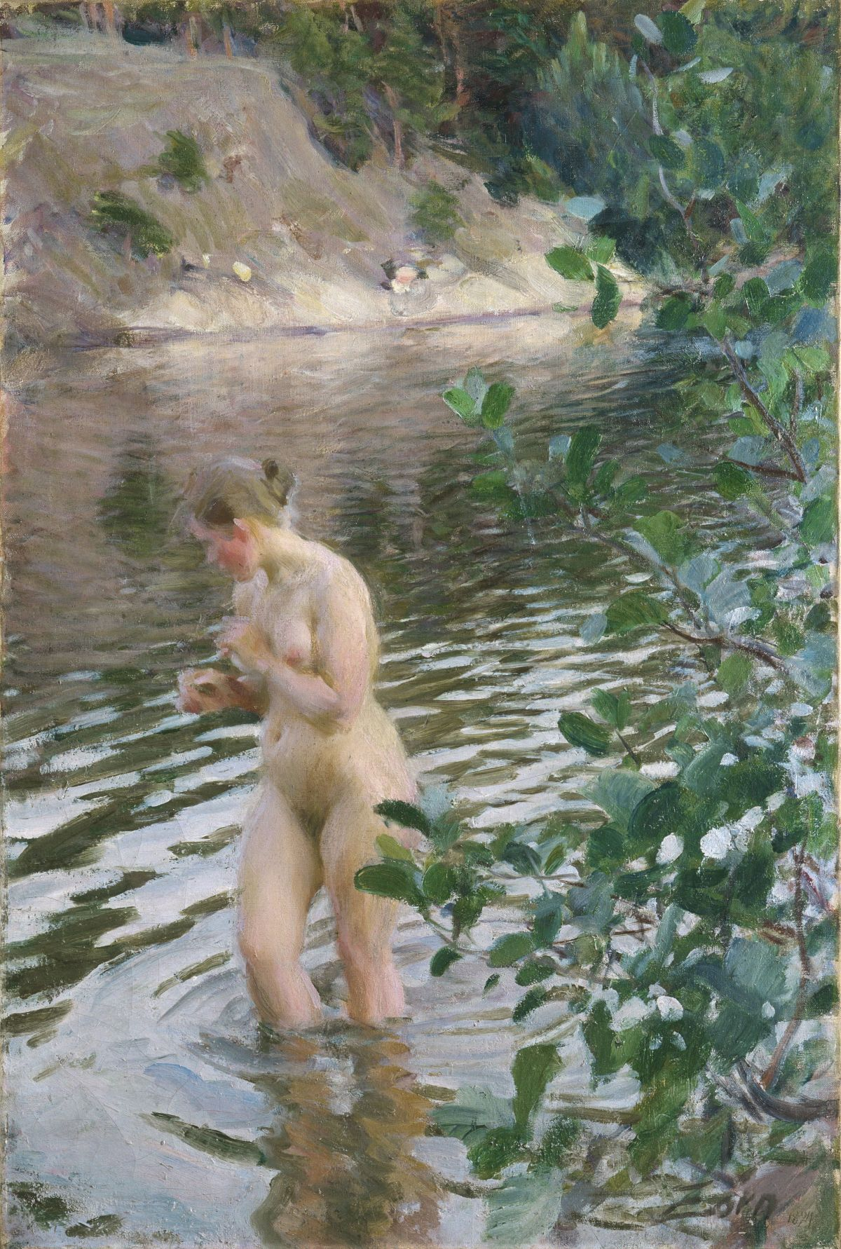 Frileuse by Anders Zorn