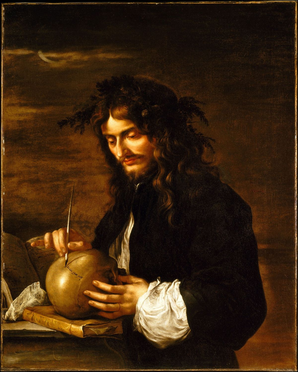 Self­Portrait by Salvator Rosa