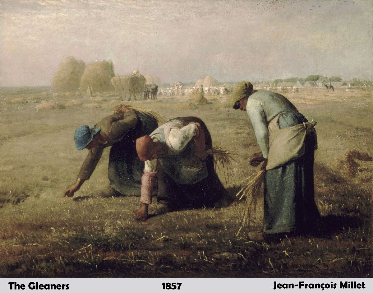 The Gleaners by Jean-François Millet